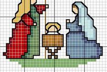 cross stitch - vánoce
