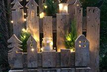 weihnachten holzgestell
