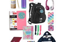 Back to school essentials / Back to school essentials
