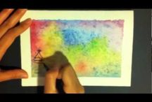 Watercolour Effects On Cards