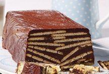 Сладкие блюда / Торты, пирожное, печенье и др.