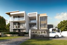 The Lakes Waterfront Apartment / Gold Coast, Varsity Lakes, waterfront apartments, modern interior, architecture