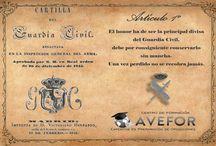 Cartilla del Guardia Civil / Redactada por el Duque de Ahumada. 20 de diciembre de 1845