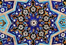 Iran - mosaik bygninger