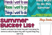 summer buck list