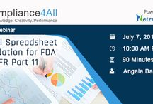 FDA Compliance webinars and events training / The Food and Drug Administration is a federal agency of the United States Department of Health and Human Services, one of the United States federal executive departments.