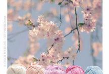 Crochet colour palates