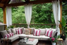 Outdoor Spaces I Covet / by Kelly Arndt-Winters