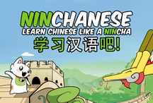 Learn Chinese with cats and Dragons / Take your #Chinese to the next level with Ninchanese, a gamified learning application full of cats and dragons!  Now on #Kickstarter. Check out this board to see what our Kickstarter campaign is all about : http://www.ninchanese.com/kickstarter