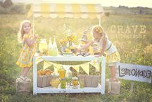 Party | Lemonade Stand Ideas / by Jessica |OhSoPrintable|