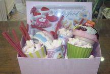 Cestas de regalo / Creamos los regalos más oricinales para todo tipo de eventos