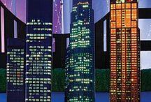 Centre de table New York