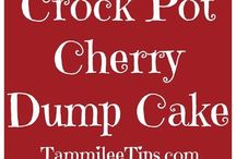 CROCK POT Cake Recipes