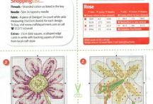 cross stitch squares