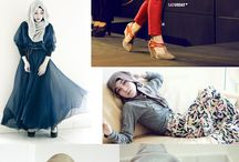 Hijab Style Idols / We love discovering new talented and stylish hijabis.  Pin their pics to this board. To gain access as a contributor /collaborator, send us a PM( Click on the Gear Icon and send us a Msg ☺ )