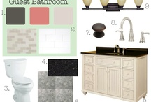 Guest Bath Ideas / Inspiration for our guest bath remodel (now completed)