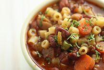 Soups / by Jeff Gardner