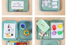 Kid ideas - tot trays / by Carrie Currie