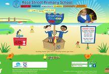 School websites / Websites I've designed via primarysite