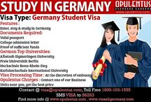 Student Visas || Study Abroad / Educational opportunities are manifold in various countries such as USA,UK,Canada, Denmark, New Zealand, Australia, Austria  and Hong Kong and so forth which not only enrich you intellectually, but also provide with a qualifying professional degree that will fetch you a higher standard of living. Students struggle hard to reach the shores of countries that are well known for their educational institutions and universities. They aspire to study in the best universities of the world