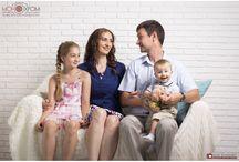 Семейная фотосессия / фотостудия Монохром