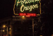 PORTLAND SYMBOLS / This is you mood board to give us insights about Portland.