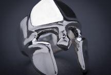 Prsteny náramky řetězy