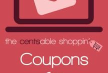 Coupon {Basics} / by The Cents'Able Shoppin