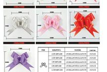 Butterfly Pull Bows / Honstar Gift Wrapping Co., Ltd, a manufacturer that supplying ribbon bow productions and various styles of gift wrapping decorative accessories and ribbons and bows tools. We are also supplying different sizes gift wrap supplies with customized designs to meet your needs.Log in our webiste:http://www.ribbon-accessories.com/