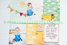 Scrapbooking: LO's for scrapbook album / by Linda Flens