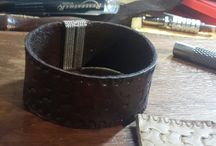 leather cuff for men