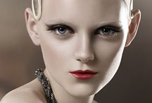 Beauty and make-up inspirations / Beauty via simplicity and beauty enhanced via make-up arts