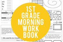 First grade / by Saj Mo