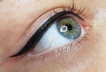 Eye liner tatoo