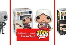Funko / Funko è un'azienda che produce giocattoli ispirati, e dotati di licenza ufficiale, alla cultura pop e alle sue infinite declinazioni tra film di successo, serie tv di culto e videogiochi leggendari.