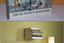 _home decor: books / If you're looking for funny ways to display your book collection, than you're right here! These are all amazing decor ideas, that will make any bookworm happy dance! *** A few rules for the group: #1 don't post more than 3 times a day #2 please repin others - don't post and run #3 please check your pin links! People won't find your artwork, if the link is bad!