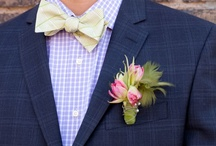 Boutonnieres That Rock! / Boutonniere ideas for the Groom and Groomsmen
