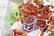 Soup, Salads, and Sandwich