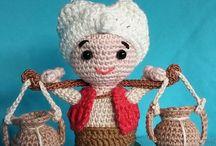 figurky - crocheted figures / háčkované figurky - crocheted figures