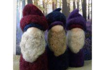 Waldorf Small Dolls, Puppets, Table Top Dolls, Peg Dolls