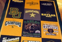 Sic'em! / Bleeding that green and gold!  Proud Baylor Bear / by Amanda Evans