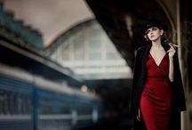 Vintage 40's dress shoot -Inspiration