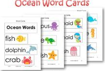 sight words card