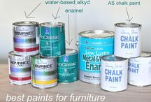 paint wooden furniture