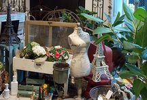 """UNI """"Ricoche"""" / Our gardening goods, flowers and plants boutique.  ガーデニンググッズ、雑貨、花、緑などを販売するブティックです。"""
