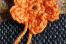 fleurs simples au crochet  modèles gratuits.