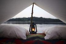 Idyllic Camping Moments