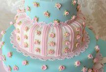 Fondant cakes / Sugarpaste, icing airbrush