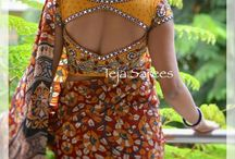 simple saree design