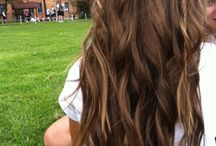 Curls and a braid
